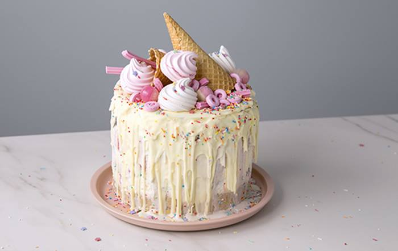 Ice Cream Layer Cake